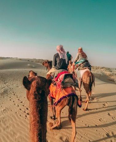 01_Camel Tour mit Freunde, Oman