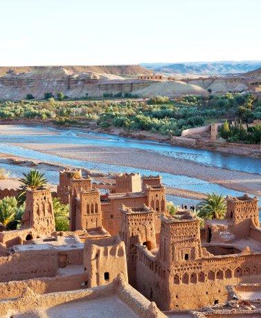 MAR.Ouarzazate.Kasbah am Fluss