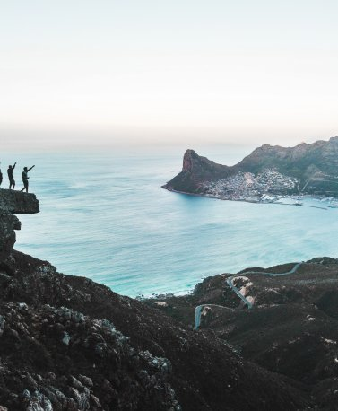 Wandern mit freunde Kapstadt, Südafrika