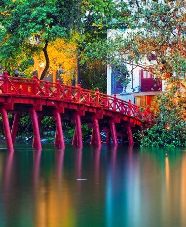 VNM.Hanoi.Rote Brücke