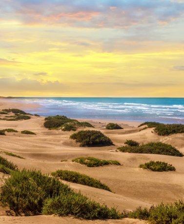Agadir.Beach Sunset
