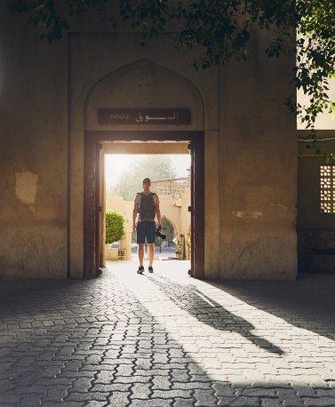 1_Wadi, Oman Altstadt