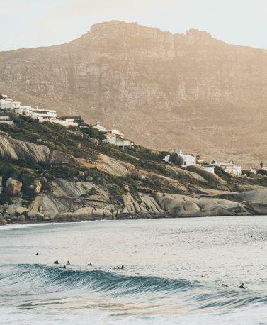 Surfing Kapstadt, Südafrika