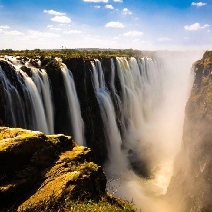 ZMB.Victoria Falls.Wasserfälle