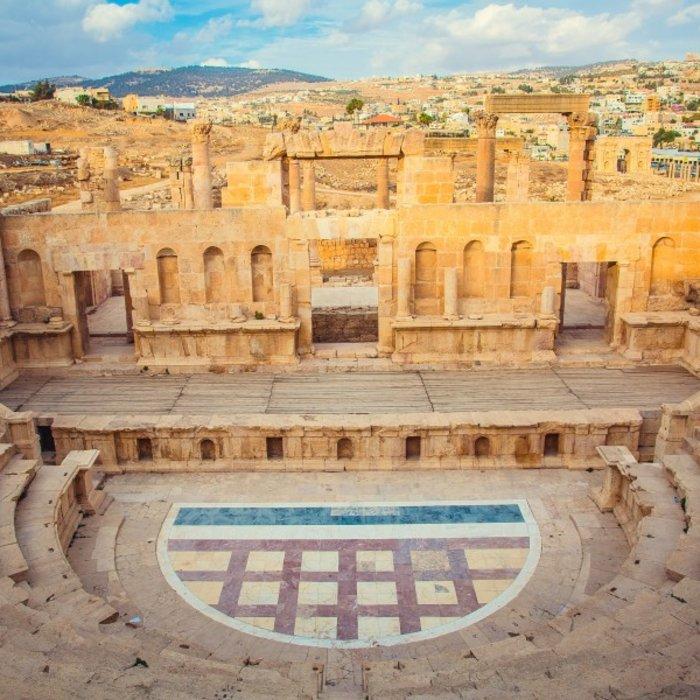 JOR.Amman.Römisches Amphitheater