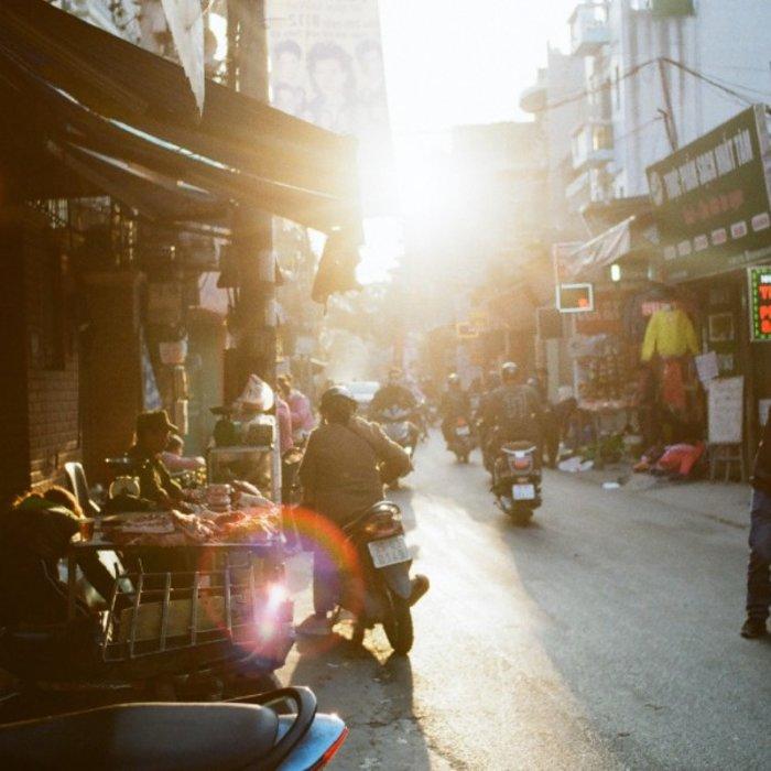 VNM. Hanoi. Straße