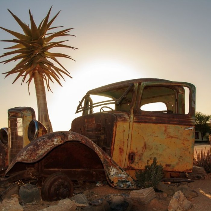 NAM.Fish River Canyon.Old Car