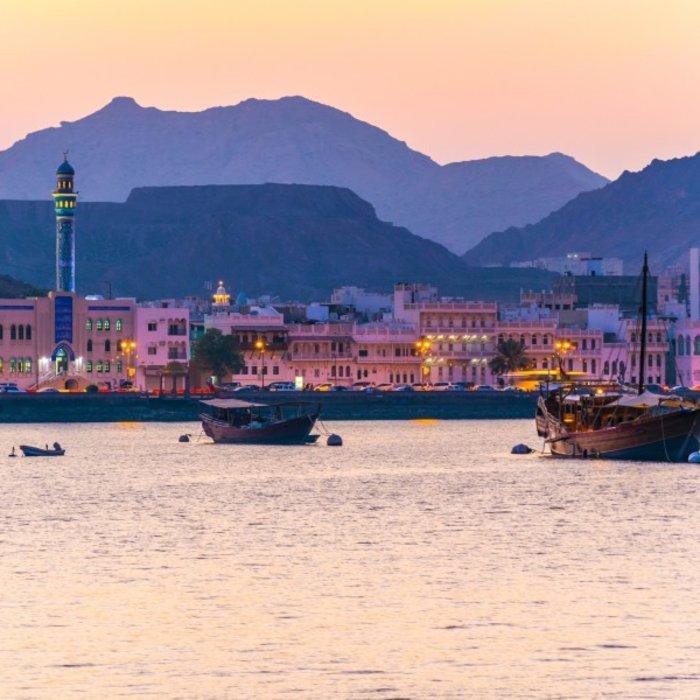 OMN.Muscat.Sonnenuntergang