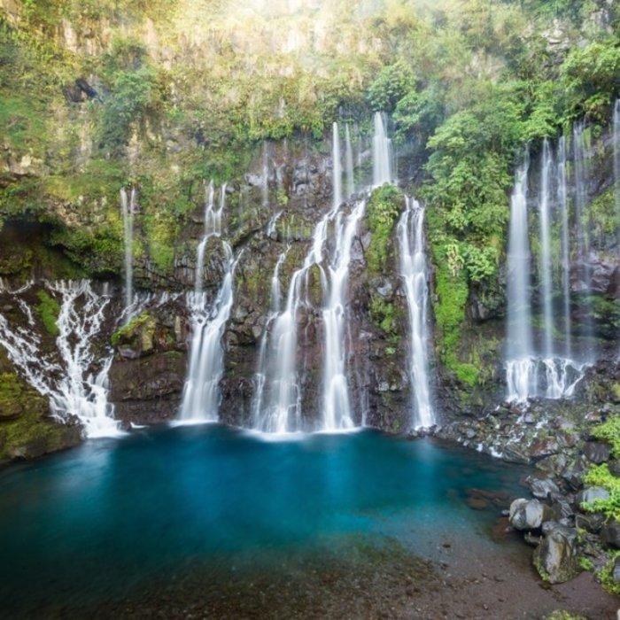 REU.Saint Gilles.Les Cormorans Waterfall