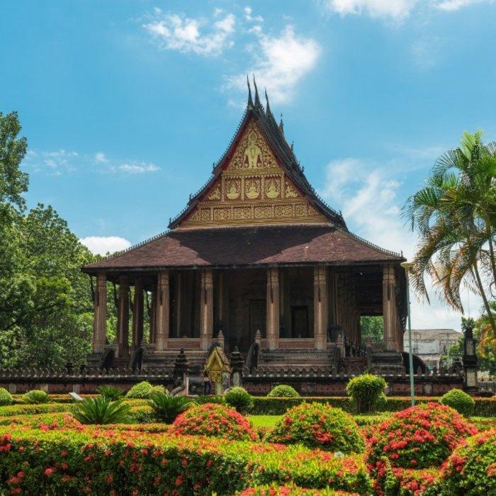LAO. Vientiane. Haw Pha Kaeo