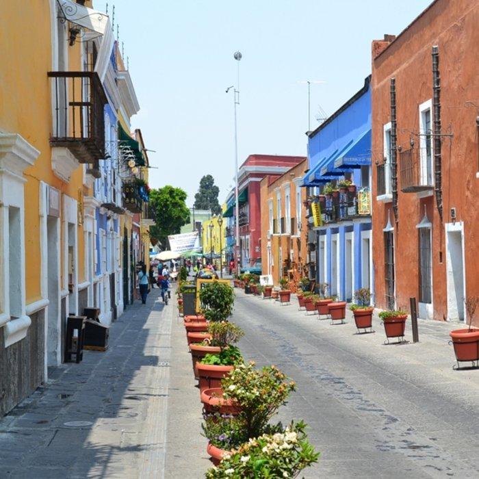 MEX.Puebla.Häuser