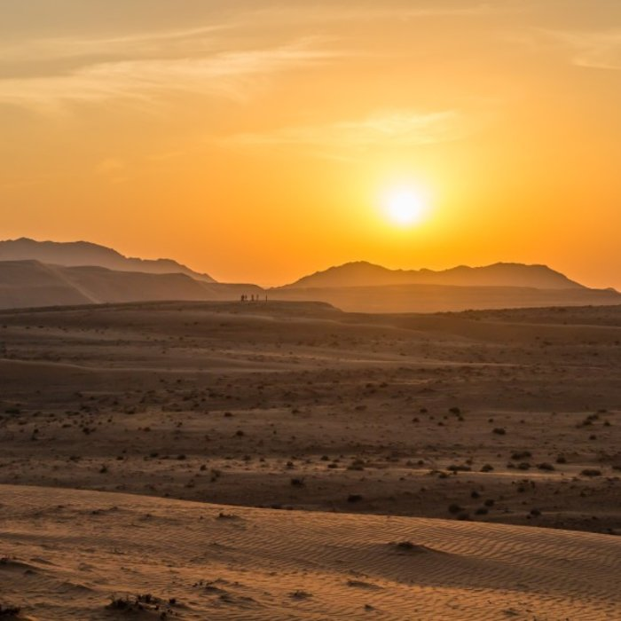 OMN.Wahiba Sand Sonnenuntergang