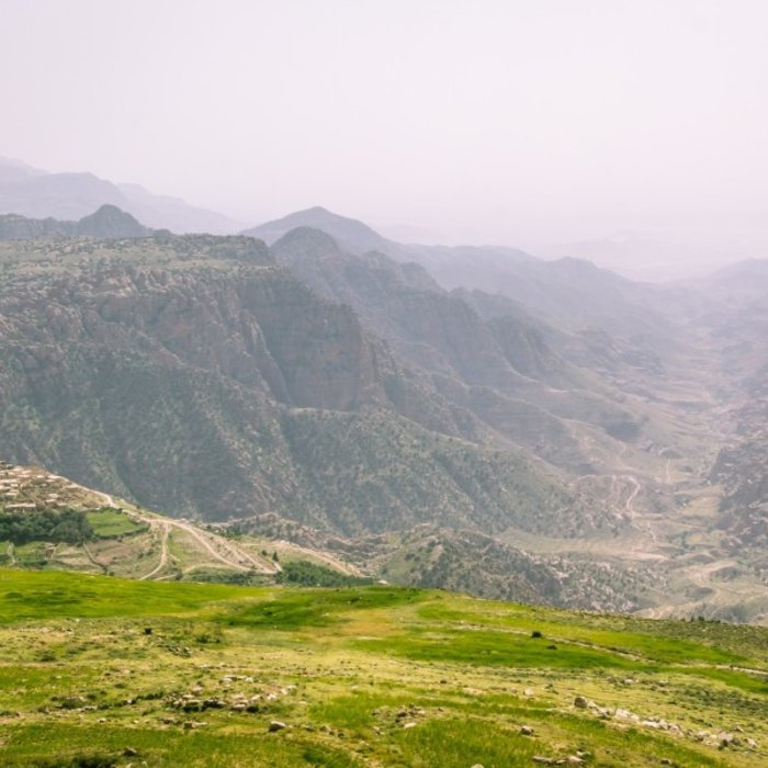JOR.Dana Nature Reserve.Green Overview