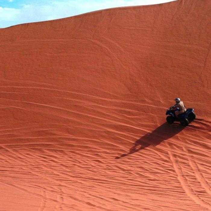 NAM.Swakopmund.Quad in Namibwüste