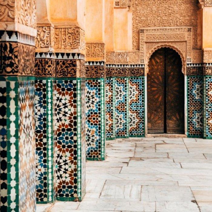 MAR.Marrakesch.Mosaike
