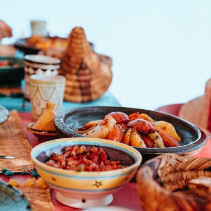MAR. Agadir. marrokanische Küche