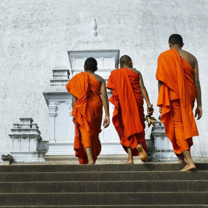 LKA.Anuradhapura. monks