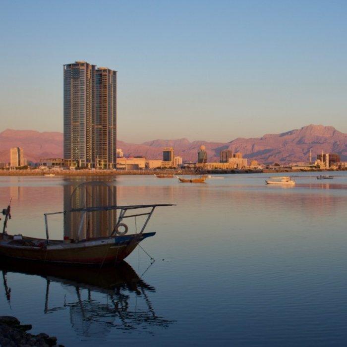 VAE.Ras al Khaimah.Sunset