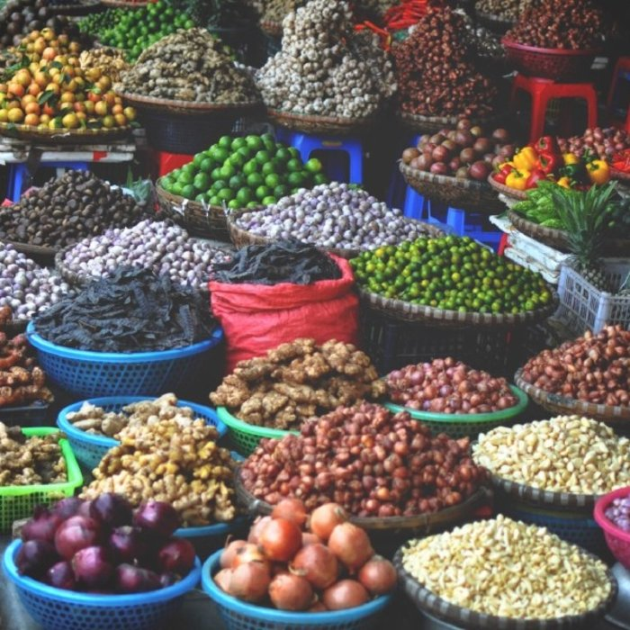 VNM. Hanoi. Markt
