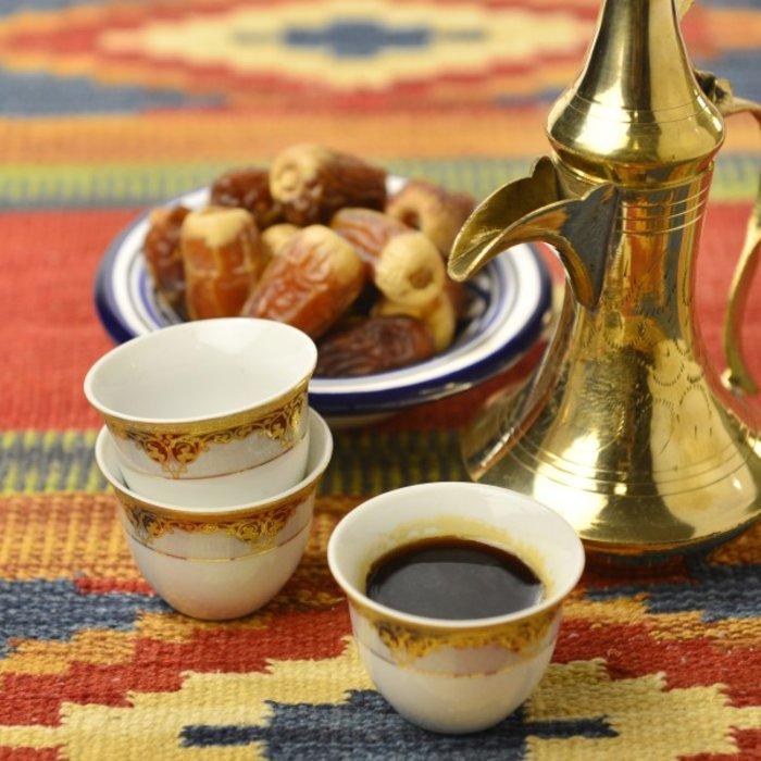 OMN.Al Hamra.Frischer Arabischer Kaffee