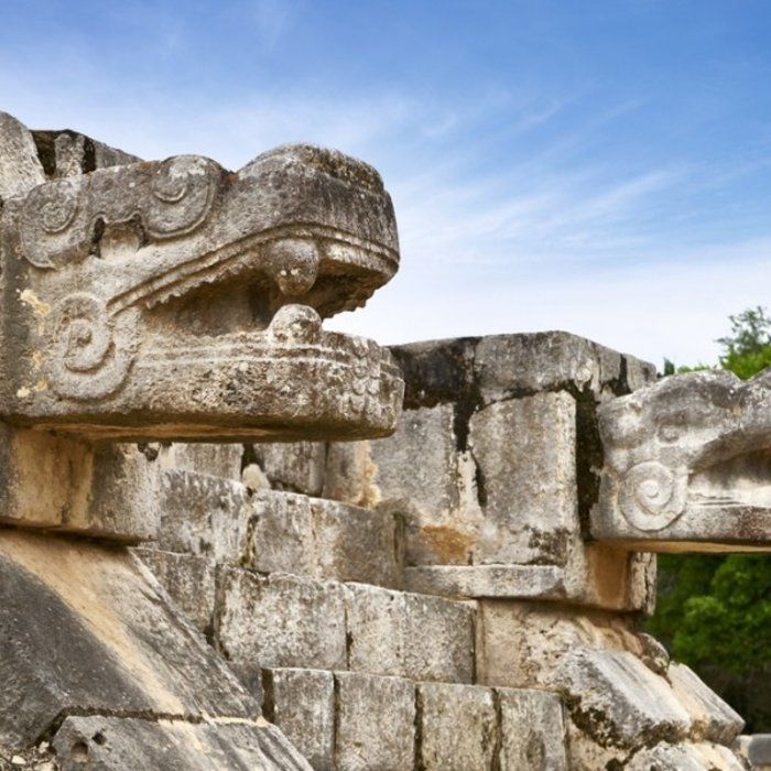 MEX.Chichen Itza.Jaguar-Detail