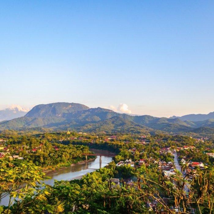 LAO. Luang Prabang. Phou Si View