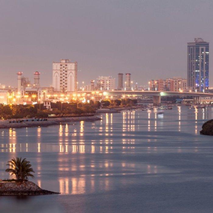 VAE.Ras Al Khaimah.Hafen