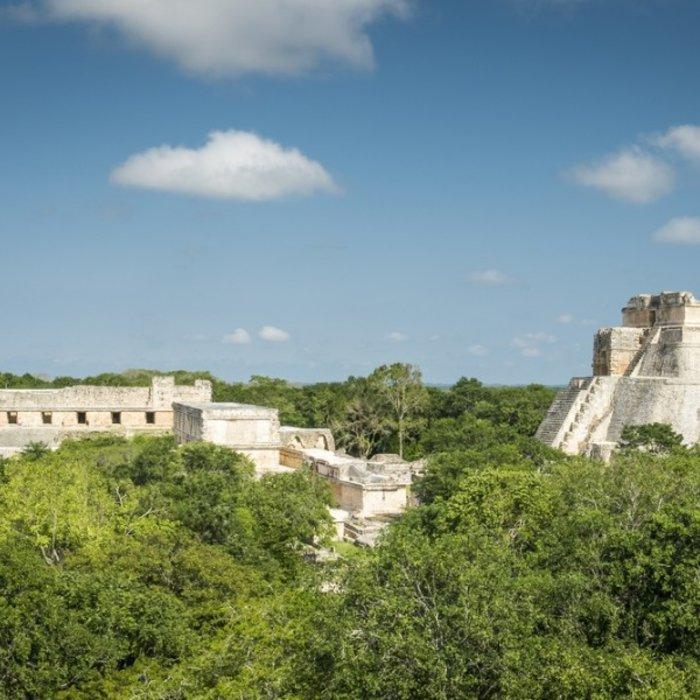 MEX.Merida.Uxmal Archaeological Site2