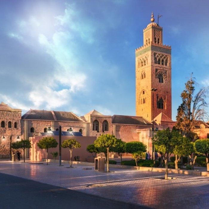 MAR.Marrakesch.Turm