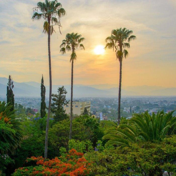MEX.Oaxaca.Blick auf Stadt