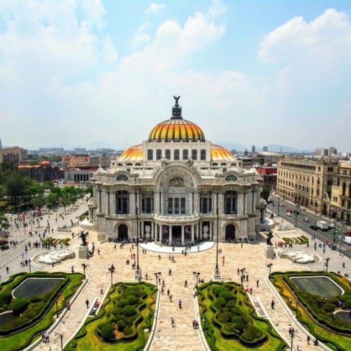 MEX.Mexico City.Belles Artes