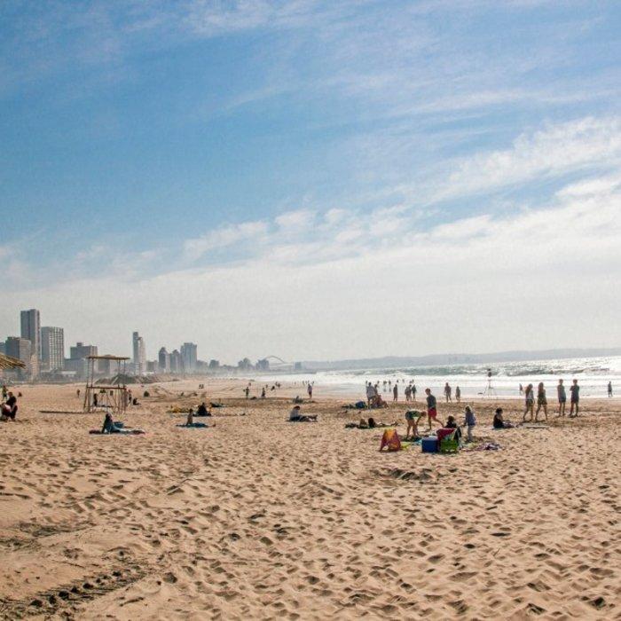 ZAF.Durban.Strand Meer Menschen