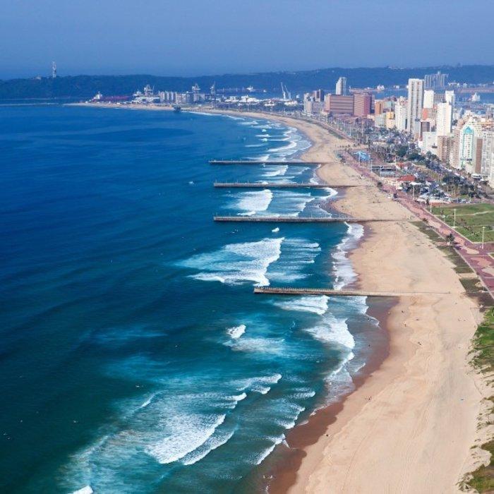 ZAF.Durban.Strand Meer Stadt
