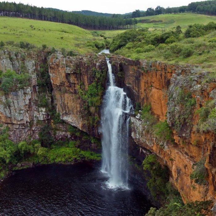ZAF.Drakensberge.Waterfall
