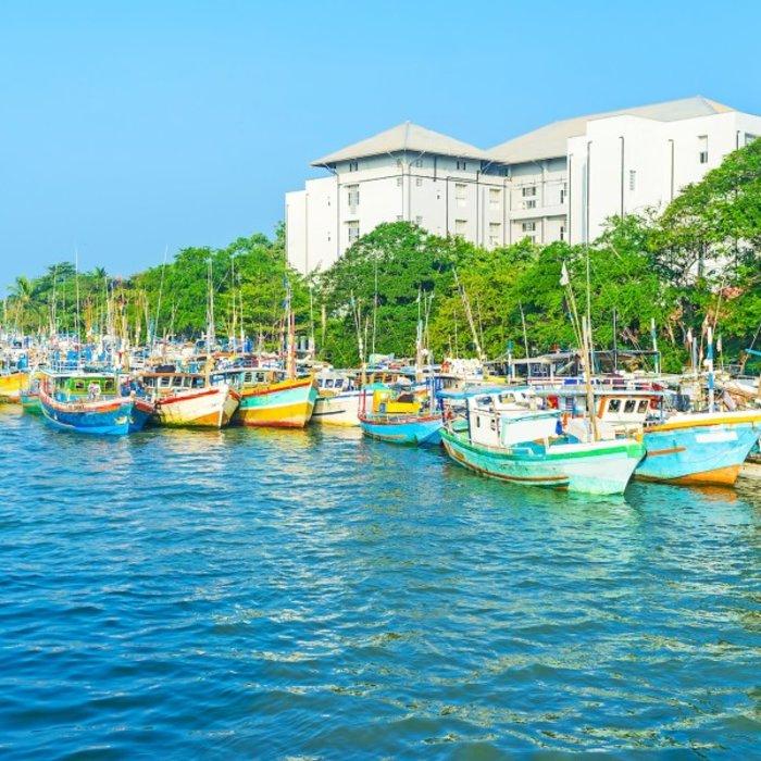 LKA.Negombo.Hafen