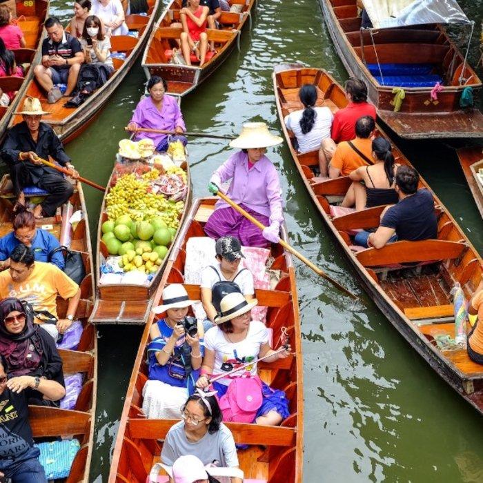 VNM.Ho Chi Minh Stadt.Floating Market