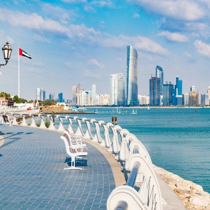 VAE.Abu Dhabi.Promenade