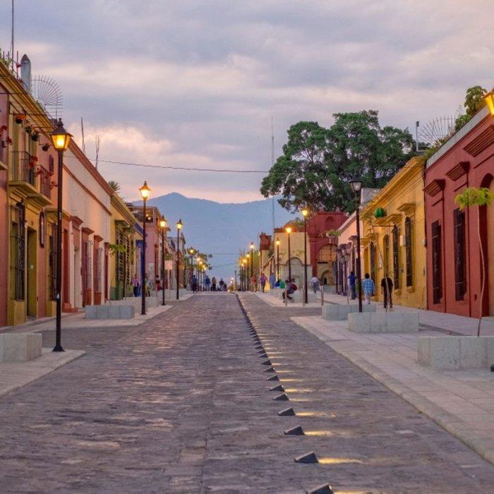 MEX.Oaxaca.Koloniale Straße