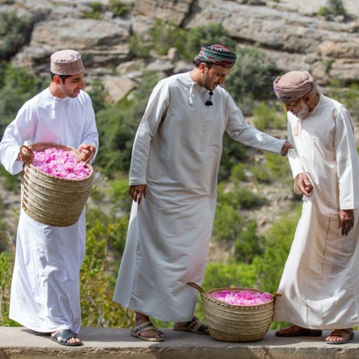 OMN.Jebel Akhdar.Rosenernte
