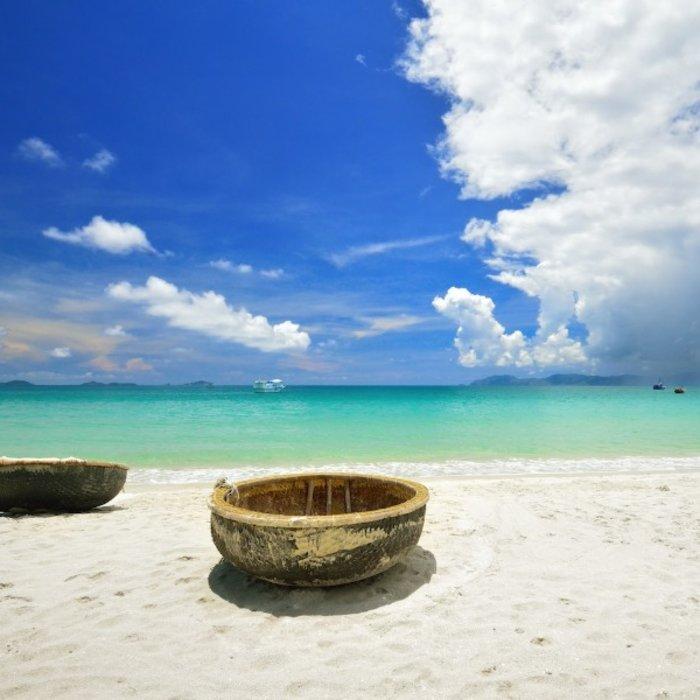 VNM.Con Dao Island.Strand und Meer