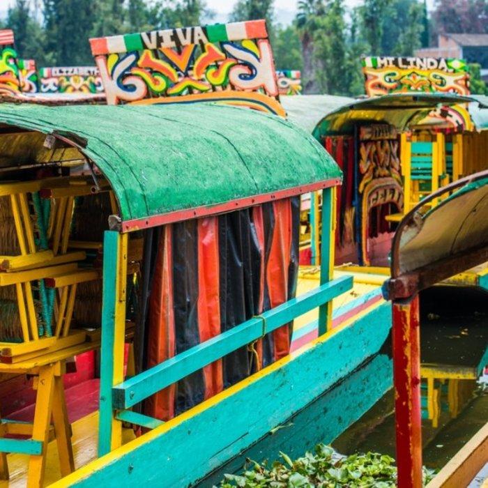 MEX.Xochimilco.Boote