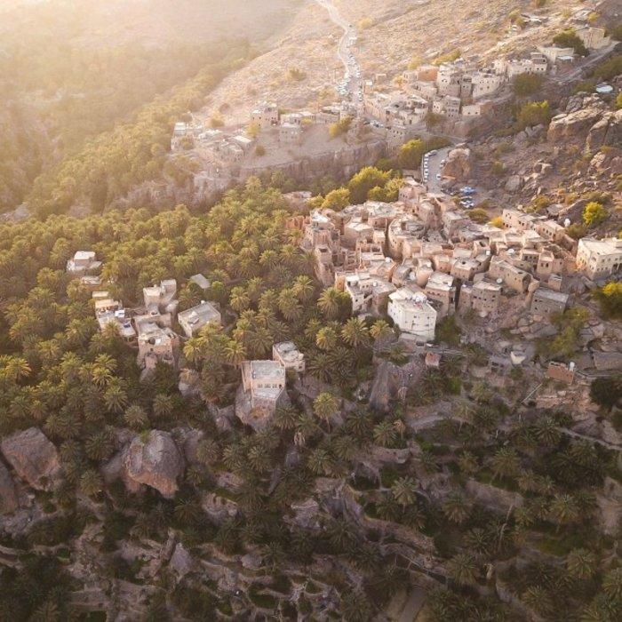 OMN. Misfat Al Aberyee. Ansicht oben
