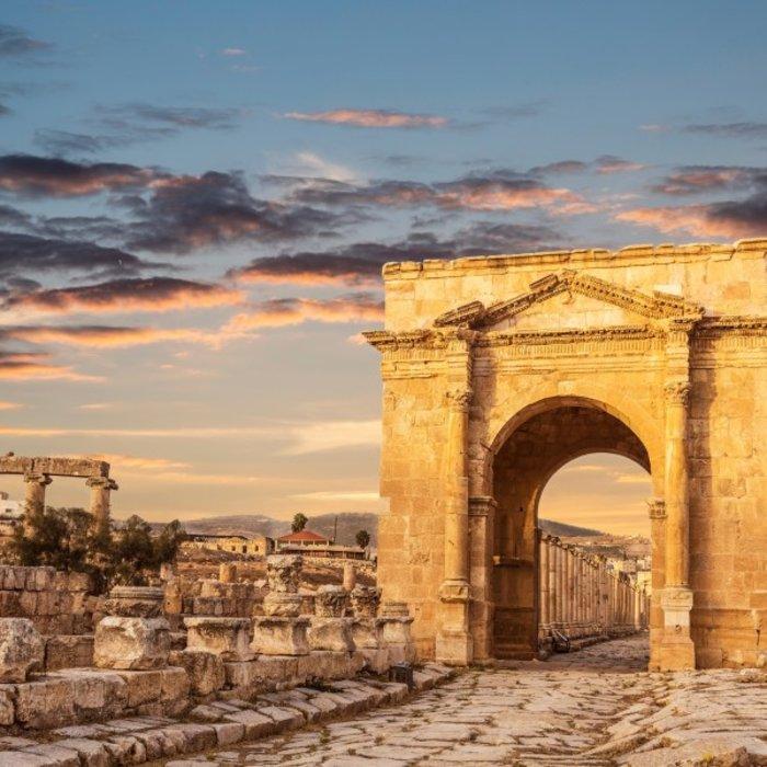 JOR.Amman.Jerash Ruinen