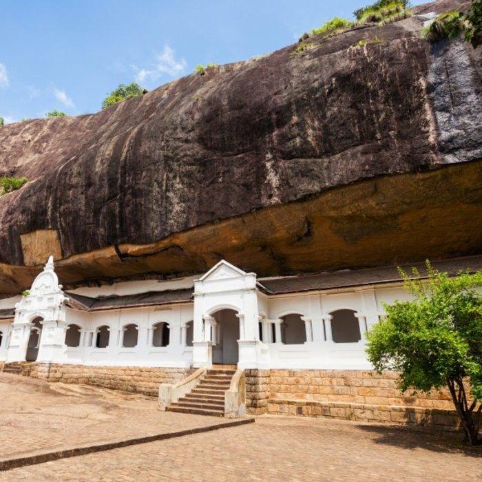LKA.Dambulla Cave Tempel