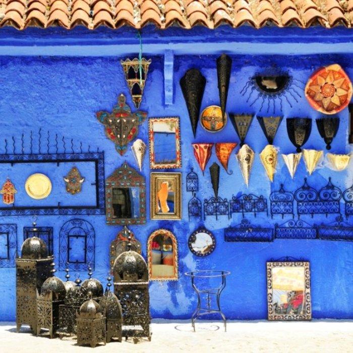 MAR.Marrakesch.Blaues Haus
