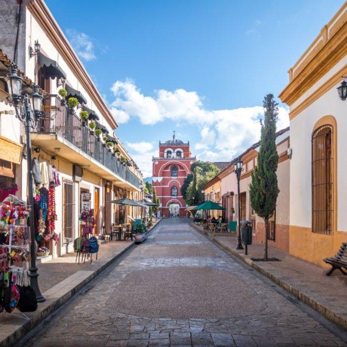 MEX.San Cristobal de las Casas.Alstadt