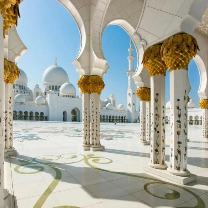 VAE.Abu Dhabi.ZayedMoschee