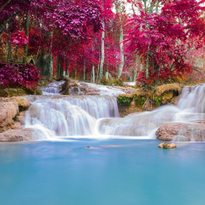 LAO.Kuang Si Wasserfälle1