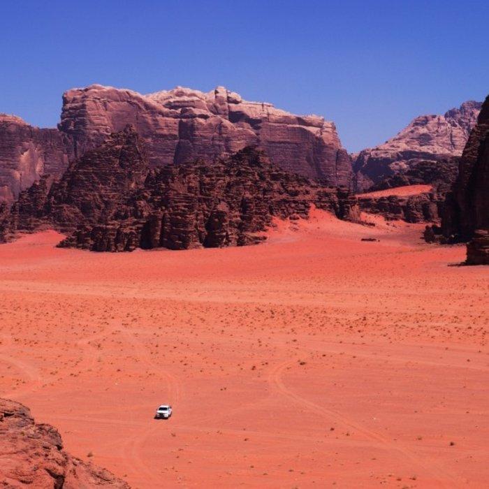 JO.Wadi Rum. Landschaft