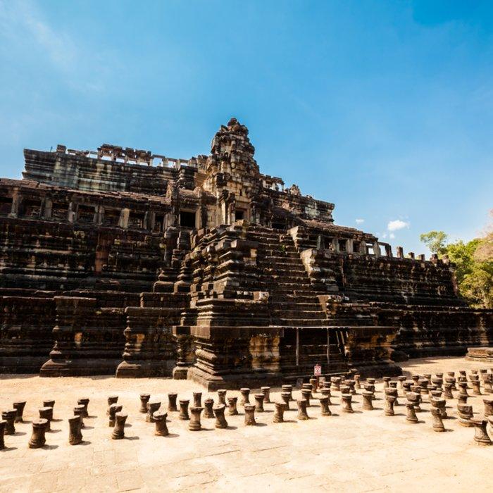 Kambodscha Siem Reap Angkor Thom Baphuon Tempel